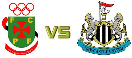 Pacos Ferreira vs Newcastle