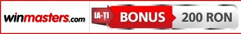 Winmasters Pariuri Sportive Bonus 200 RON