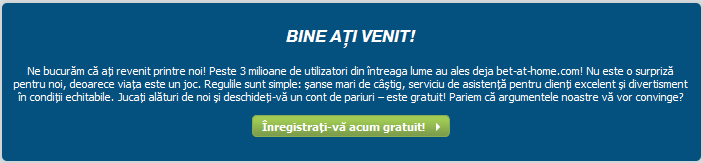 inregistrare gratuita bet-at-home